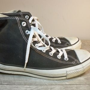 Vtg Converse Chucks Black Men's Sneakers Kicks 9.5